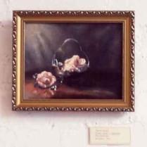 'Camelias' detail from 'Sandra Bridie: Flower Painter 1912-1965' Store 5