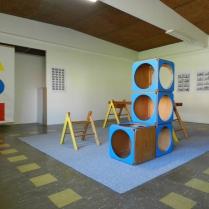 Installation photo, 'Colour + Form Compendium - a fiction', Techno Park Studios, 2013
