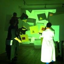'C+F: Colour Projections, a reenactment - a fiction' (detail)
